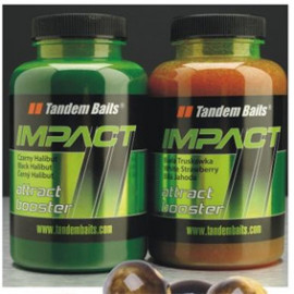 Tandem Baits Impact attract booster 300ml - ROYAL STRAWBERRY