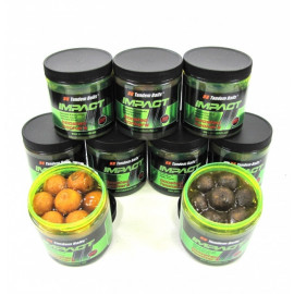 Boilies TANDEM BAITS  Impact Boosted Hookers 18mm/200ml - MONSTER KRAB