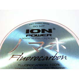 AWAS ION POWER Fluorocarbon - 0.08mm / 50m / 0,790kg