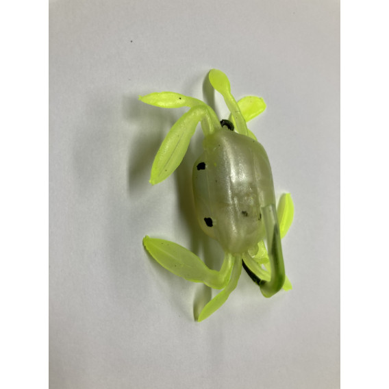 Berkley Vodní hmyz Powerbait Power Nymph 2,5cm/1ks - GREEN CHARTREUSE