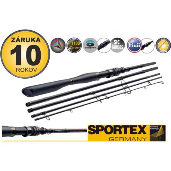 Přívlačové pruty SPORTEX Carat GT-S Spin Travel 5-díl 300cm / 50g