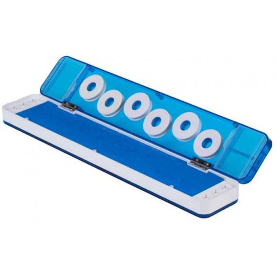 Krabička pro ukládání návazců s magnetickým uzávěrem