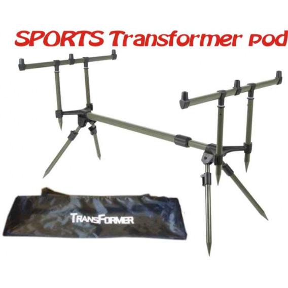 SPORTS Transformer pod - Pro tři pruty - 3ks