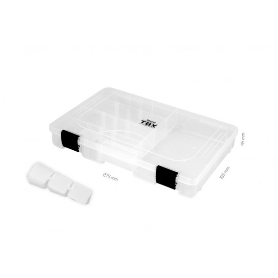 Krabice Delphin TBX One 275-5P Clip-275x185x45mm