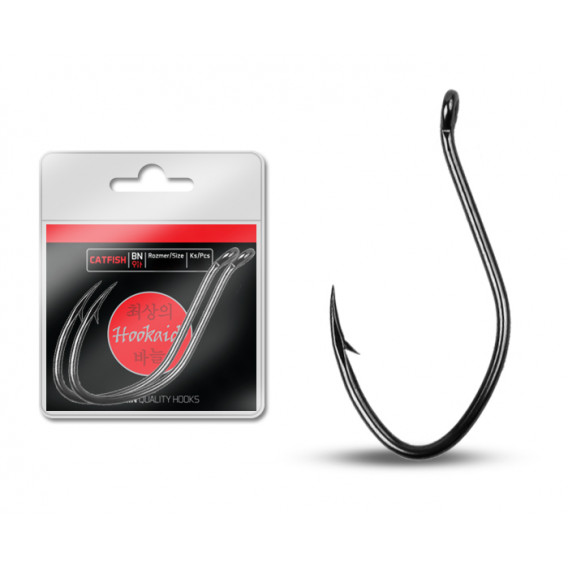 Háček Delphin HKD CATFISH ring / 3ks-BN/6/0