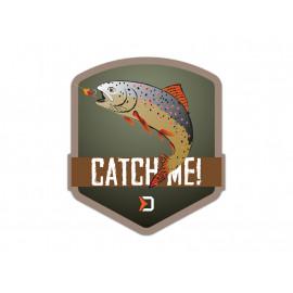 Nálepka Delphin CatchME! PSTRUH-9x8cm