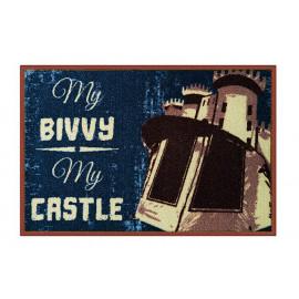 Rohož My bivvy my castle-60x40cm