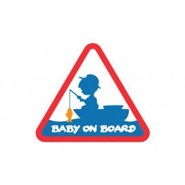 Nálepka BABY ON BOARD-