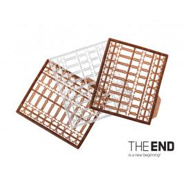 Zarážka KOTVA pro boilie THE END / 189ks-S,M,L / G-ROUND+