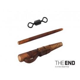 Montáž na olovo PIN SWIVEL THE END / 6ks-
