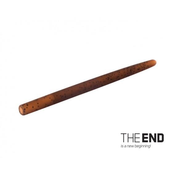Tvrdá gumička proti zamotání THE END / 10ks-4cm / G-ROUND
