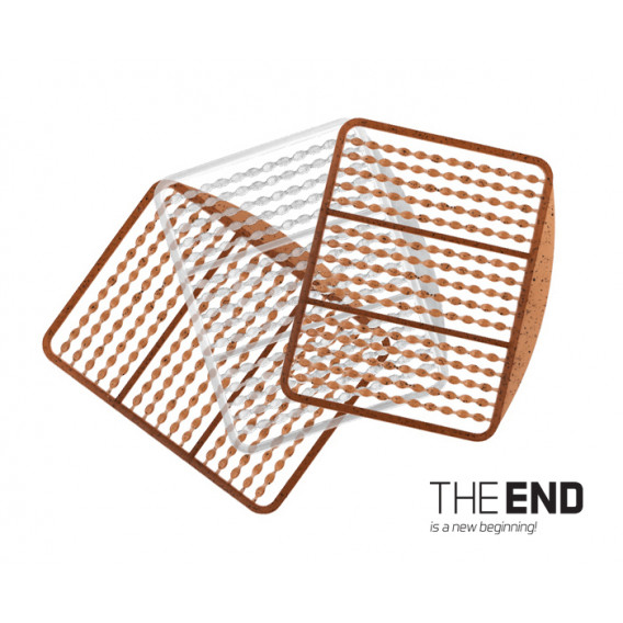 Zarážka Simple THE END / 270ks-G-ROUND + transp