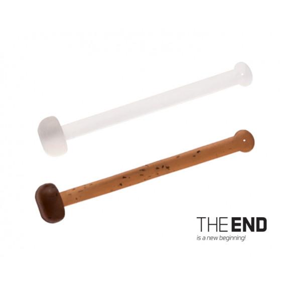 Elastická zarážka THE END / 36ks-18,21,25 mm mix