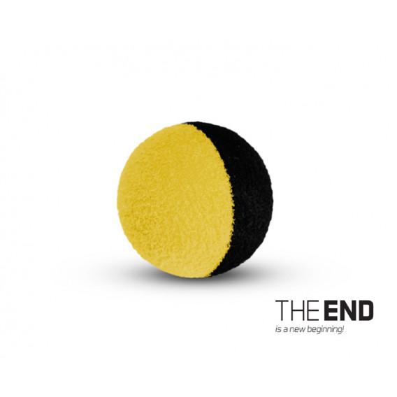 THE END ZIG RIG černo-žluté / 10ks-12mm