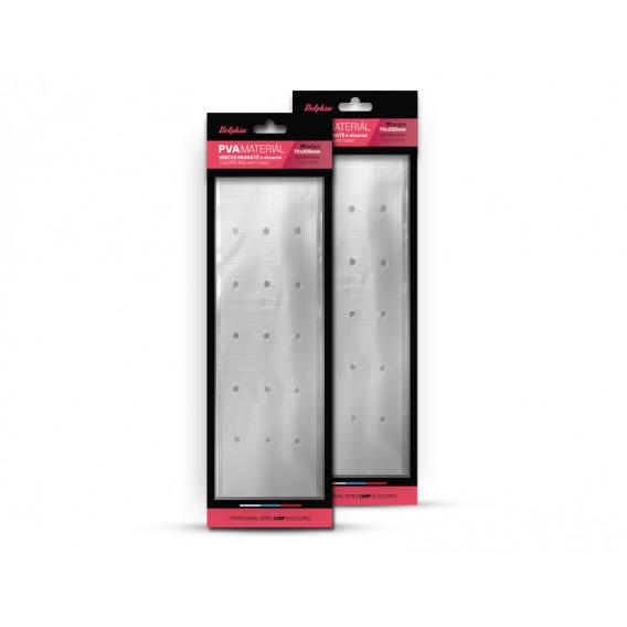 PVA sáček hranatý s otvory zatahovací Delphin / 10ks-70x200mm