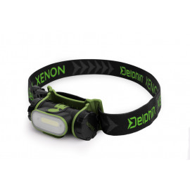 Čelová lampa Delphin XENON-5W