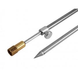 Vidlička ocelová se závitem-50-90cm