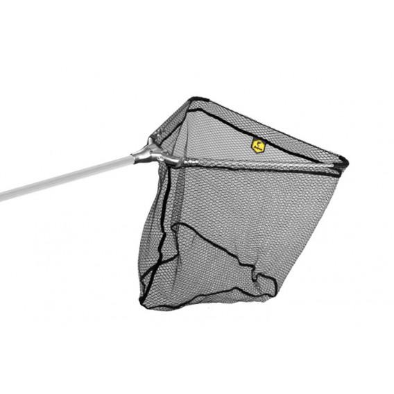 Podběrák Delphin kovový střed, pogumovaná síťka-60x60/170cm