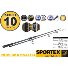 Sportex Kaprový prut GRAPHENON Carp 3,75lb 13ft
